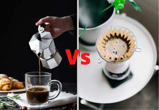 Drip vs percolator