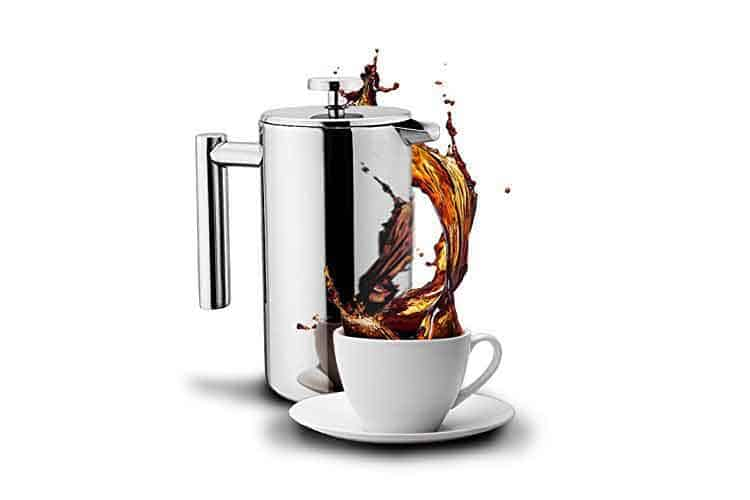 french press coffee mug